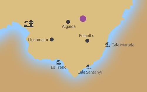 Neubauvilla mit fantastischem Fernblick - map